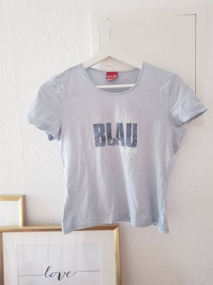 "Mustang Tshirt ""Ich mach heute blau"""