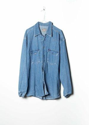 Mustang Chemise en jean bleu jean