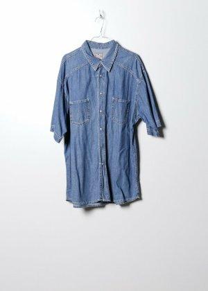 Mustang Chemise hawaïenne bleu jean