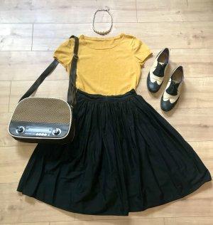 Mustardgelbe Bluse
