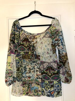 Muster Bluse