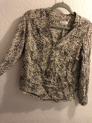 Muster chic bluse Schlangemuster