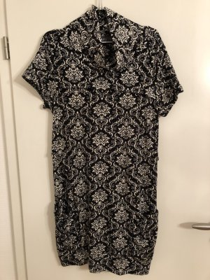 Apricot Wollen jurk zwart-wit
