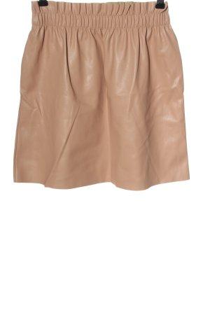 musthaves Spódnica z imitacji skóry nude W stylu casual