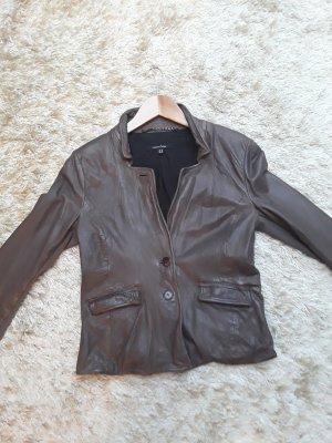 Muubaa Leather Blazer multicolored leather