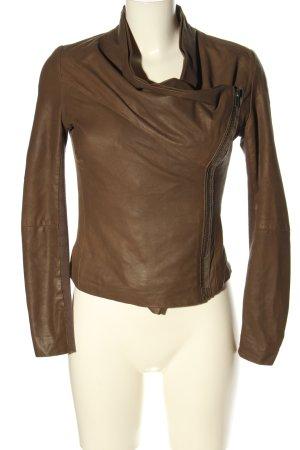 Muubaa Veste courte brun style décontracté