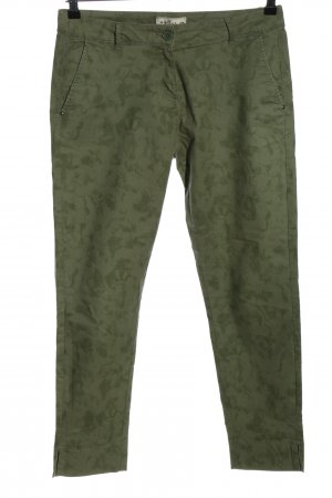 my blue by Tchibo Stoffhose khaki Allover-Druck Casual-Look