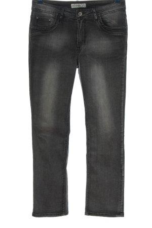 My Christy Jeans taille haute gris clair style décontracté