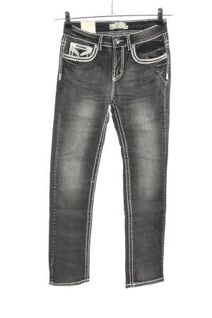 My Christy Jeans slim fit grigio chiaro stile casual