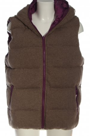 My Herzallerliebst Down Vest pink-brown quilting pattern casual look