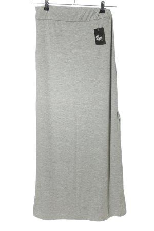 My Holly's Maxi Skirt light grey flecked casual look