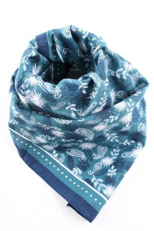 my little box Neckerchief blue-white allover print casual look