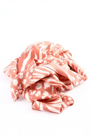 my little box Summer Scarf nude-white abstract pattern casual look