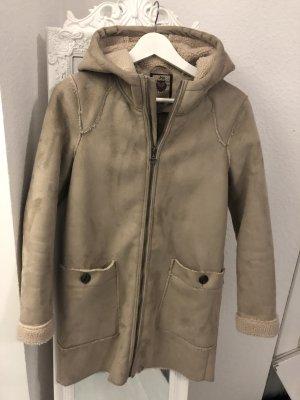 Hooded Coat beige