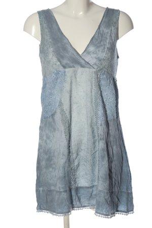 my mo Trägerkleid blau Casual-Look