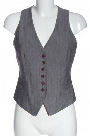 My Own Gilet de costume gris clair moucheté style d'affaires