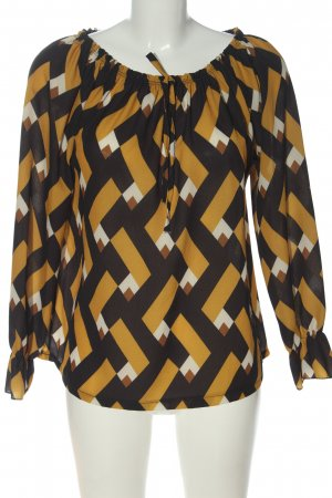 My Own Carmen Blouse abstract pattern casual look