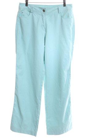 My Own Pantalon en velours côtelé turquoise style décontracté