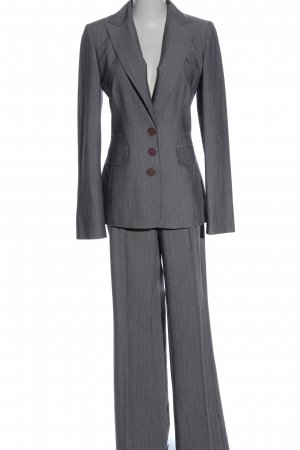 My Own Trouser Suit light grey business style