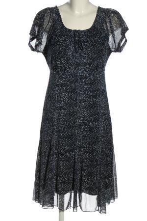 My Own Kurzarmkleid schwarz-weiß Allover-Druck Elegant