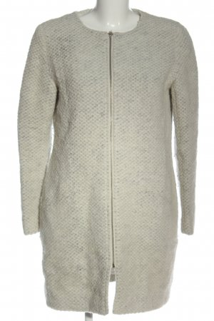 My Own Wool Coat light grey-cream flecked casual look