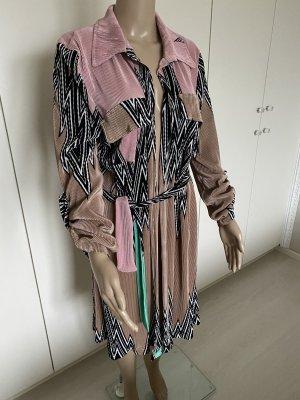My Story Paris Cappotto corto color cammello-rosa chiaro