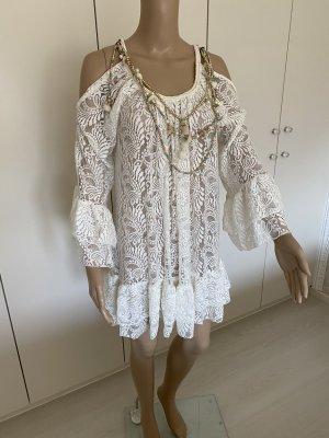 My Story Paris Bluzka z falbankami biały