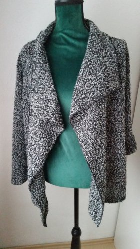 my way fer Knitted Blazer black-silver-colored