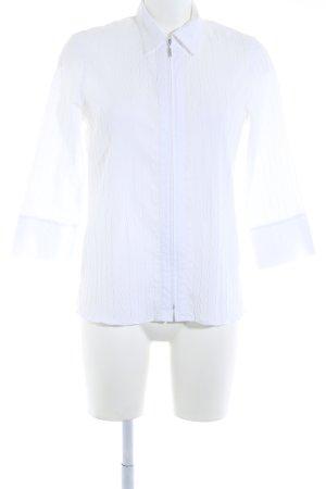 my way fer Langarm-Bluse weiß klassischer Stil