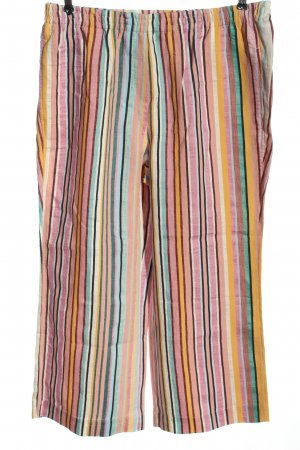 MYBC Pantalone largo motivo a righe stile casual