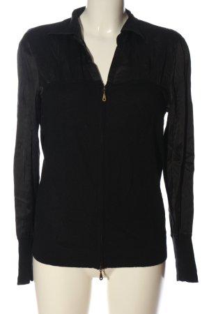 MYBC Marynarka koszulowa czarny W stylu casual