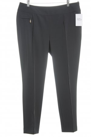 MYBC Bundfaltenhose schwarz Business-Look