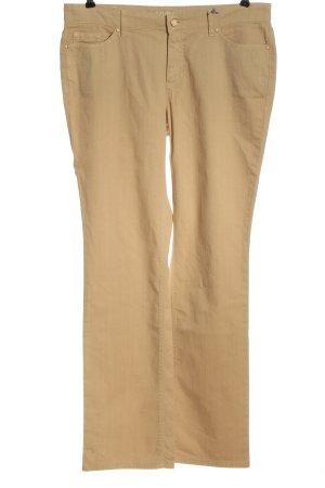 MYBC Pantalone jersey color carne elegante