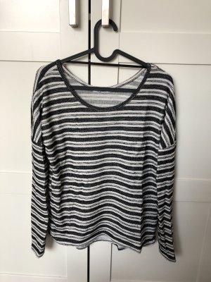 MyHalys Shirt gestreift schwarz weiß