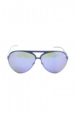 """Mykita Owalne okulary przeciwsłoneczne """"Colf7 Blue"""""""