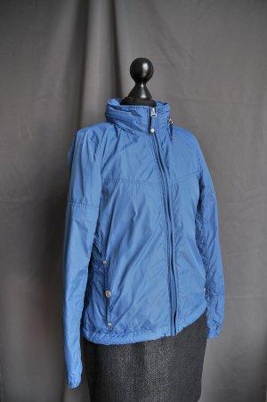 myMo blau Freizeitjacke Regenjacke Funktionsjacke Jacke leichte Sommerjacke Kapuzenjacke Blau