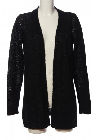 Mymo Cardigan schwarz Casual-Look