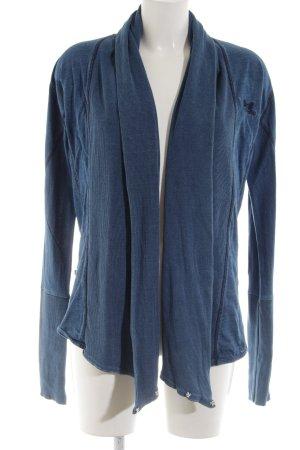 Mymo Cardigan blau Street-Fashion-Look