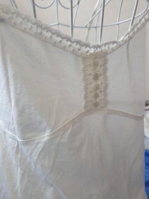 Mymo Robe en jersey blanc cassé