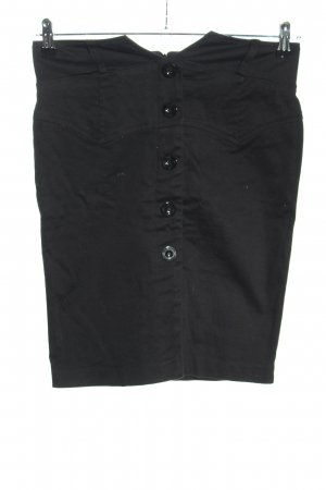 Mymo High Waist Rock schwarz Casual-Look