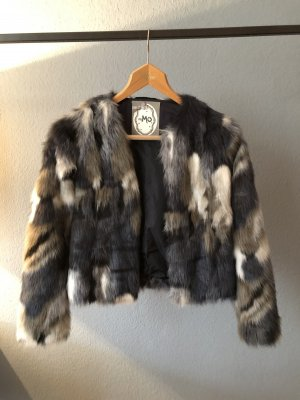 Mymo Fake Fur Jacket multicolored