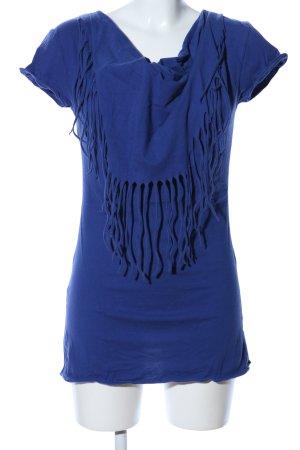 Mymo Longshirt blau Casual-Look