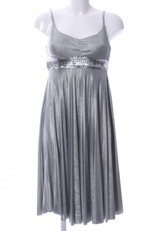 Mymo Pinafore dress silver-colored elegant