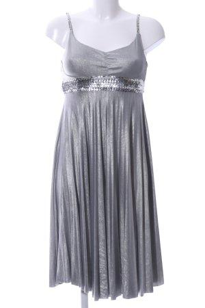 Mymo Trägerkleid silberfarben Elegant