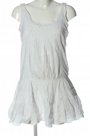 Mymo Pinafore dress white casual look