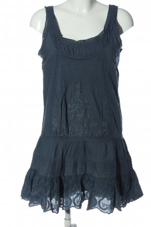 Mymo Pinafore dress blue casual look