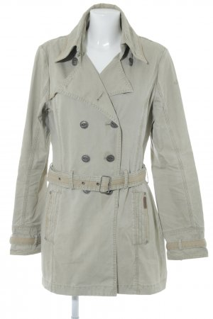 Mymo Trenchcoat grüngrau Casual-Look