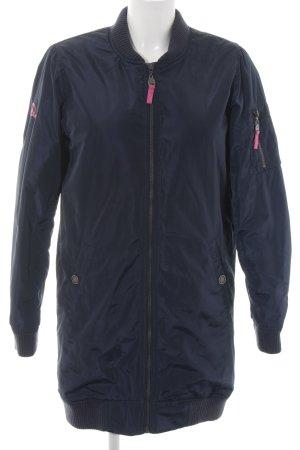 Mymo Between-Seasons Jacket blue-pink casual look