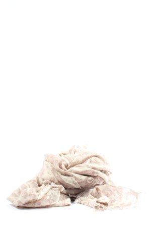 Mynuka Écharpe d'été crème-rose style décontracté
