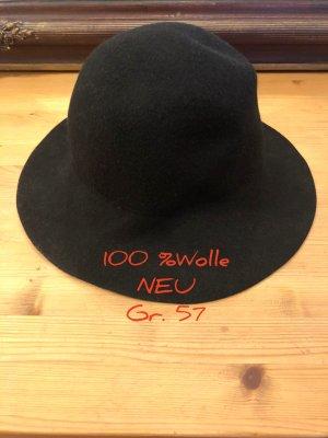 keine Woolen Hat black wool